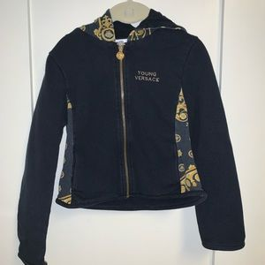 Young Versace jacket ⭐️✨ kids Size : 6a